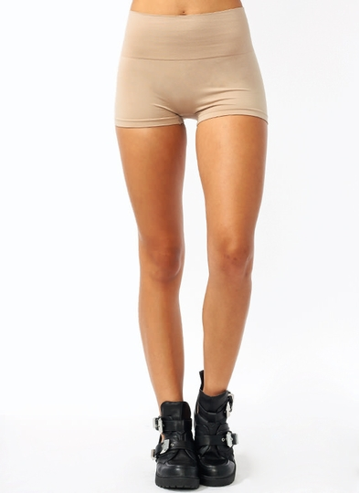 High-Waisted Tummy Control Shorts
