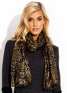 Hit The Spots Metallic Scarf