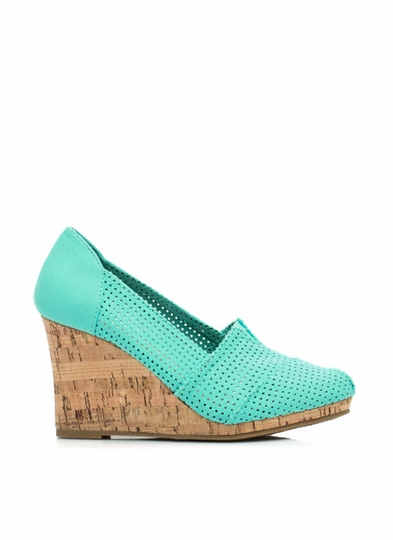 Hole Lotta Love Perforated Wedges