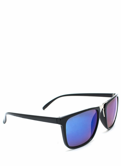 Hologram Rectangular Sunglasses