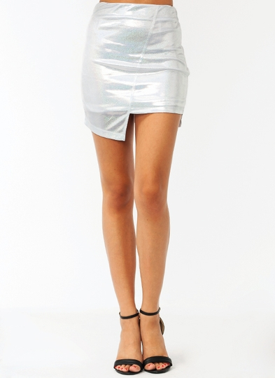 Holographic Dream Skirt