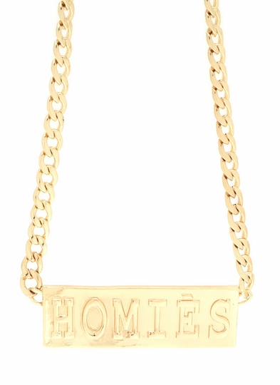Homies For Life Necklace Set
