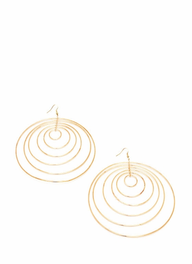 Hoop In A Loop Earrings
