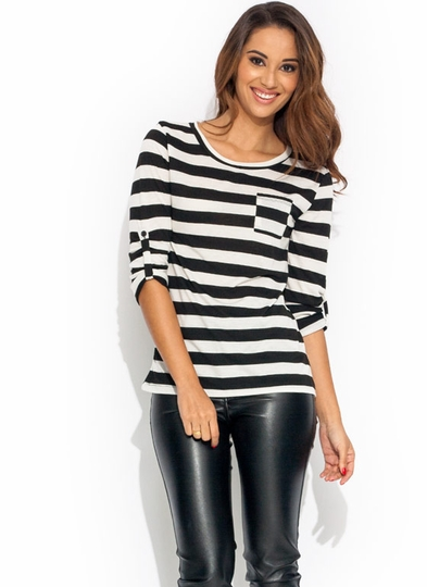 Horizontal Mambo Striped Tee