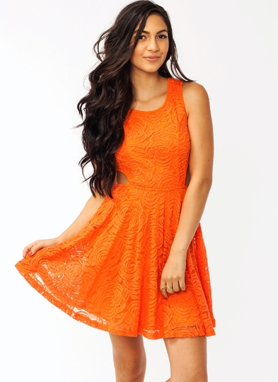 In Bloom Lace Dress