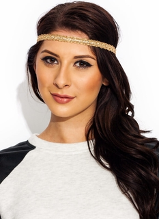 In The Loops Metallic Headband