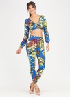 Island Life Crop Top 'N Pants Set
