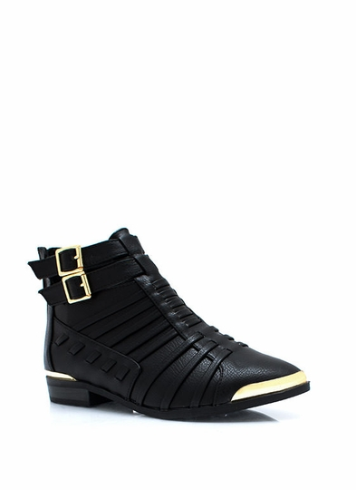 Its A Strap Ankle Boots