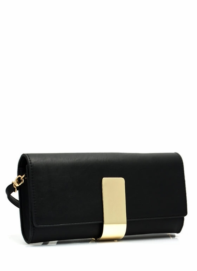 Its A Wrap Faux Leather Clutch