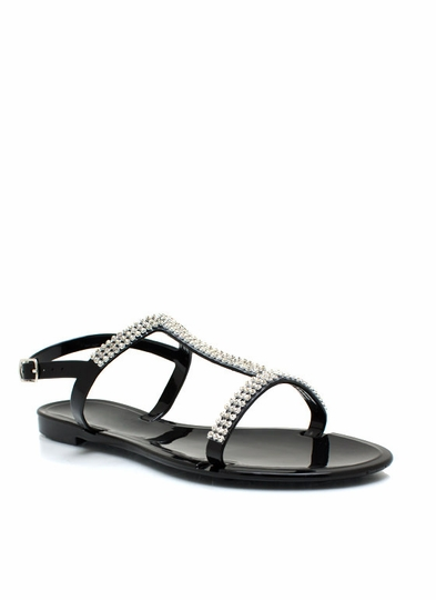 Jelly Time Embellished Sandals