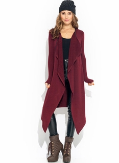 Just A Trim Draped Cardigan