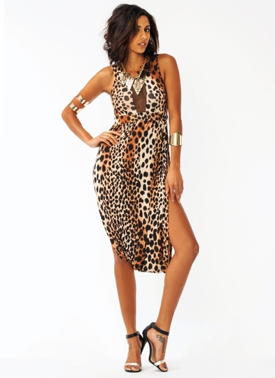 Just Between Us Leopard Dress