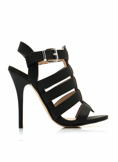 Just Strap It Open-Toe Heels
