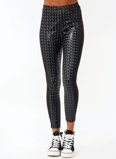 Kaleidoscope Vinyl Leggings