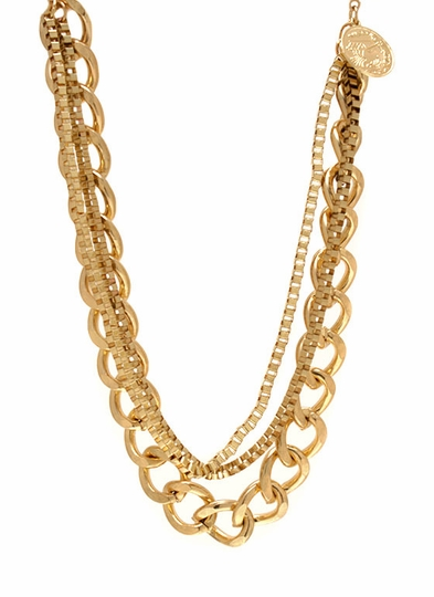 Keep It Under Chains Necklace