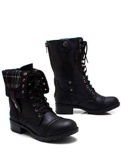 New Shoes: Keep Tabs Combat Boots