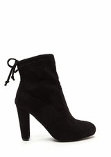 Key To Success Tied Chunky Booties