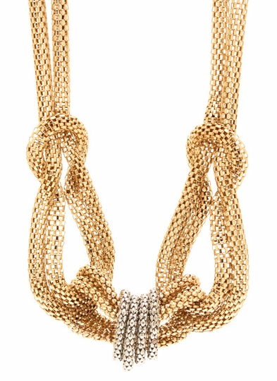 Knotty Girl Chain Necklace Set