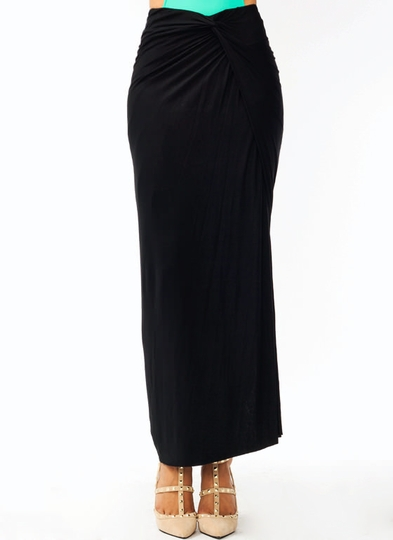 Knotty Girl Maxi Skirt