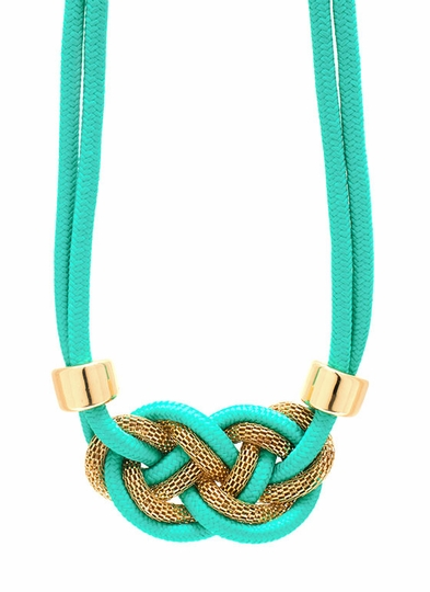 Knotty Nauti Rope Necklace