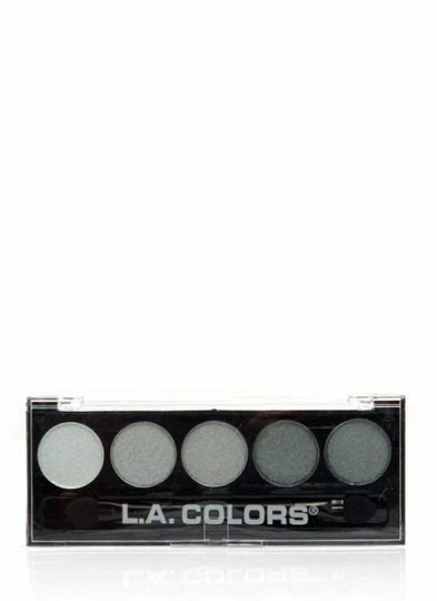 L.A. Colors 5 Color Metallic Eyeshadow Set