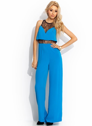 Lace Is More Wide-Leg Jumpsuit