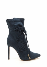 Lace-Up Your Way Pointy Stiletto Booties