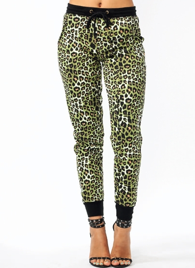 Lady Leopard Sweatpants