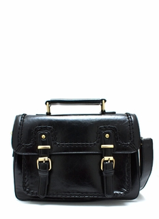Latch Maker Faux Leather Handbag
