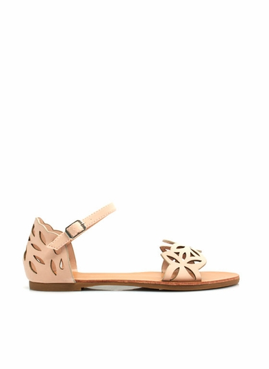 Leaf It 2 Me Cut-Out Sandals