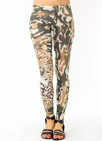 Leopard Camo Leggings