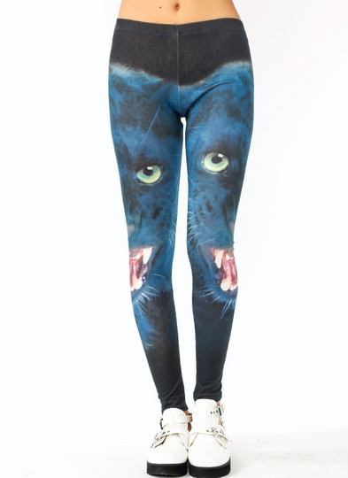 Leopard Graphic Leggings