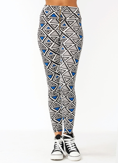 Lesson In Geometry Leggings