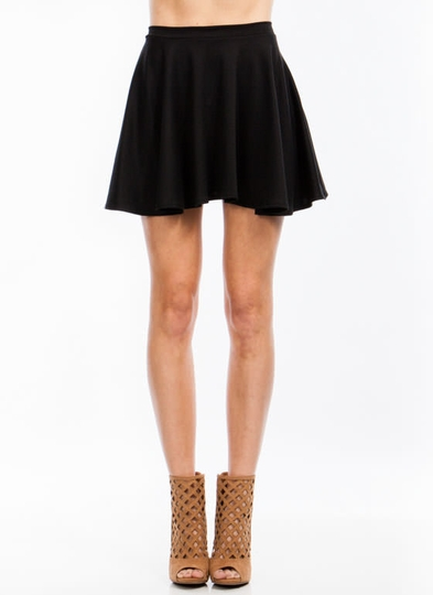 Let's Play Flare Skater Skirt