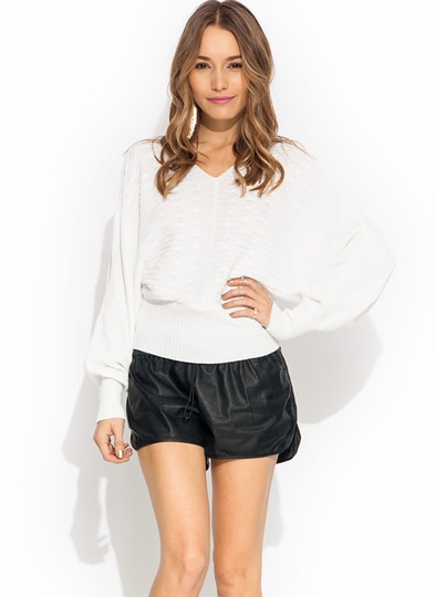 Loop Therapy Knit Dolman Sweater
