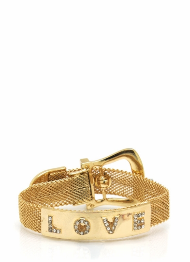 Love Buckle Belt Bracelet