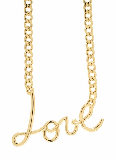 Love Me Down Necklace