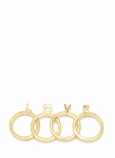 Loveable Ring Set