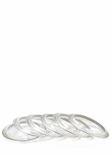 Lucite Bangle Set
