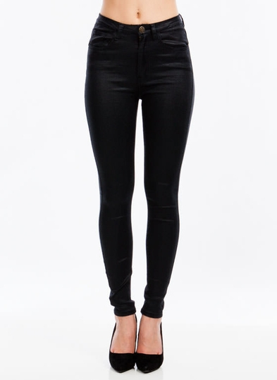 Luster N Shine High-Waisted Jeggings