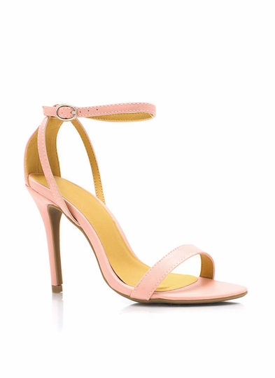Luxe Be A Lady Strappy Heels