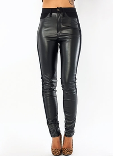 Luxe Tux Faux Leather Pants