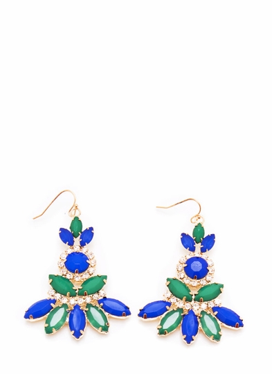 Marquis Chandelier Jewel Earrings