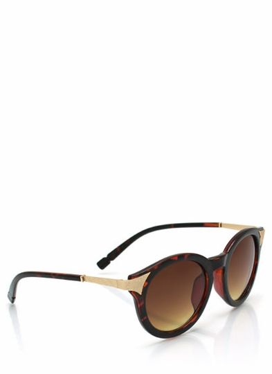 Mess A Round Hot Tip Sunglasses