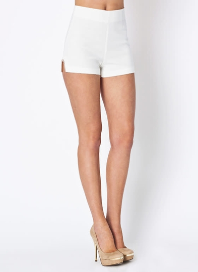 Metal Accent Shorts