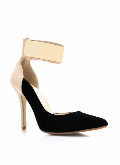 Metal Mania Single-Sole Pumps