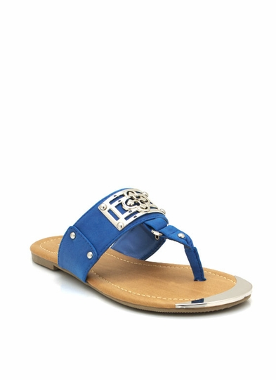 Metallic Accent Sandals