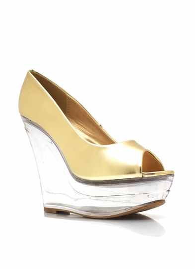 Metallic Glass Slipper Wedges