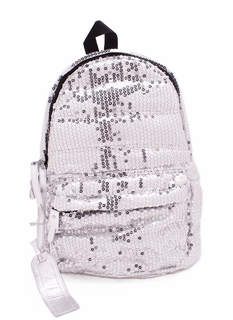 Metallic Sequin Backpack