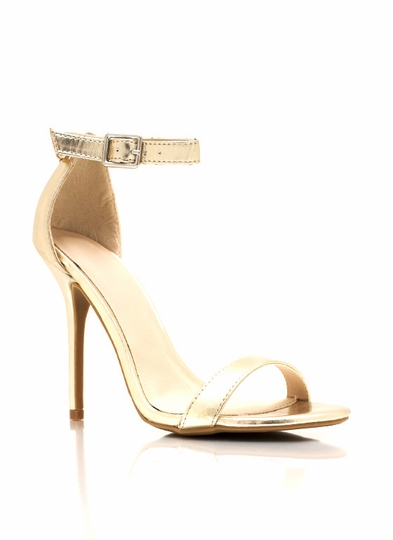 Metallic Single Ladies Heels